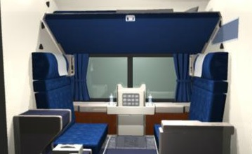Amtrak Coast Starlight & Empire Builder Train Review - Roomette