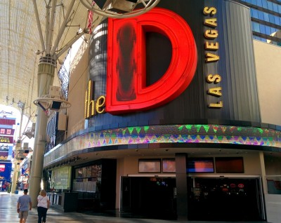 The entrance to the D from the Fremont Street Experience.