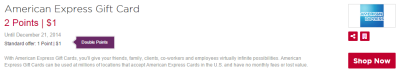 amex gift cards portals