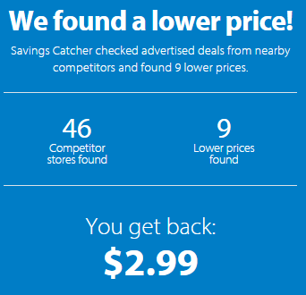 Walmart Savings Catcher Thanksgiving