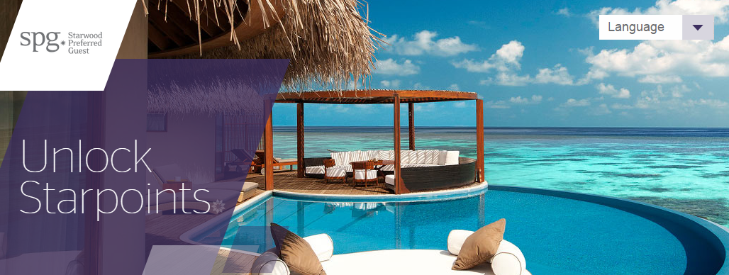 SPG   Starwood Preferred Guest