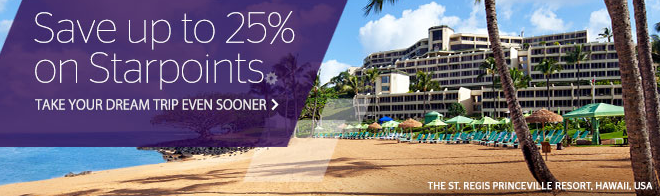 Starpoints Purchase Bonus