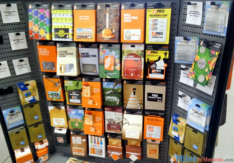 gift cards sold home depot