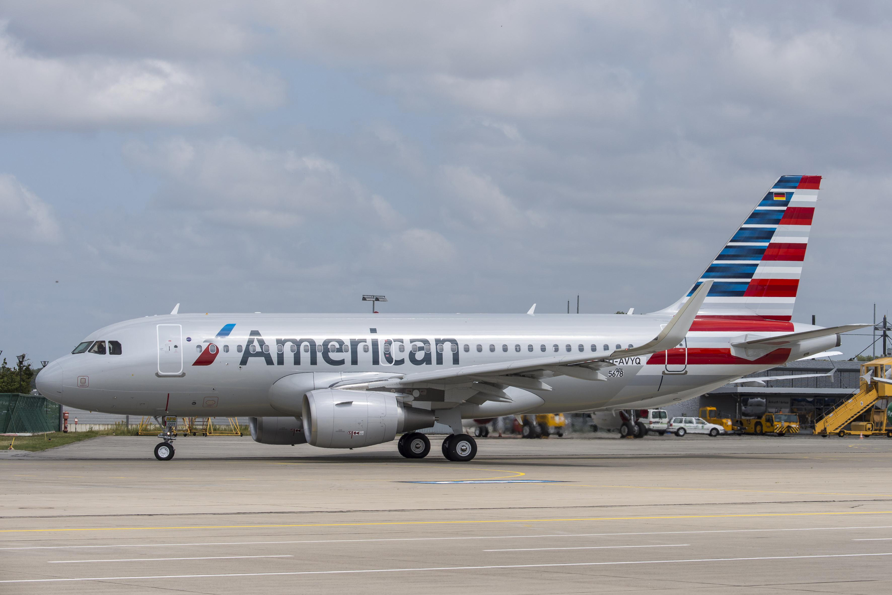Photo courtesy of American Airlines.
