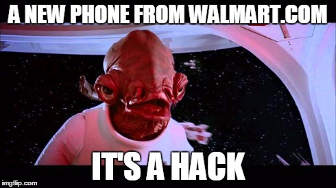 walmart account hacked