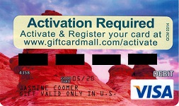 gift card mall visa gift card changes