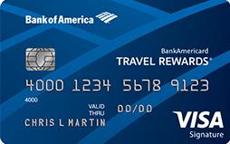 bofa travel rewards best card for everyday spend
