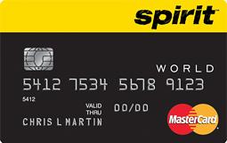 spirit airlines mastercard secret offer