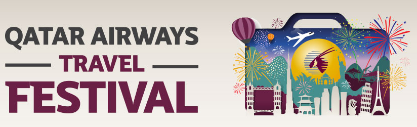 Qatar Airways Travel Festival Great Fares