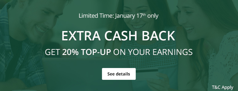 topcashback new year bonus