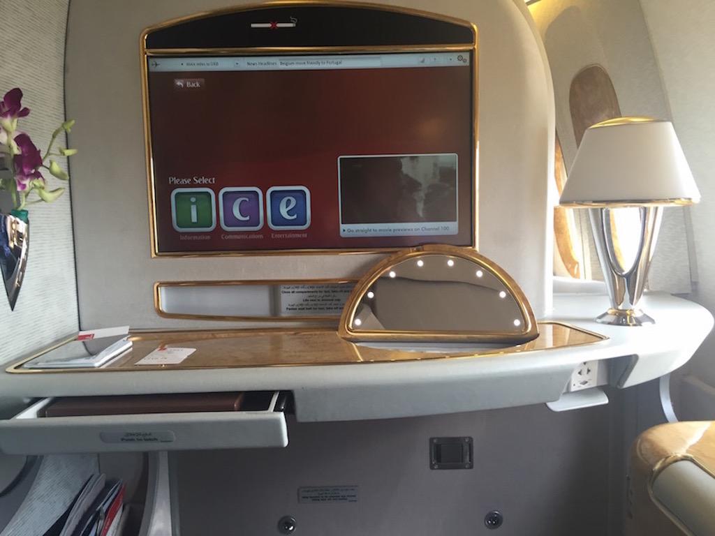Emirates First Class Review 777-300ER