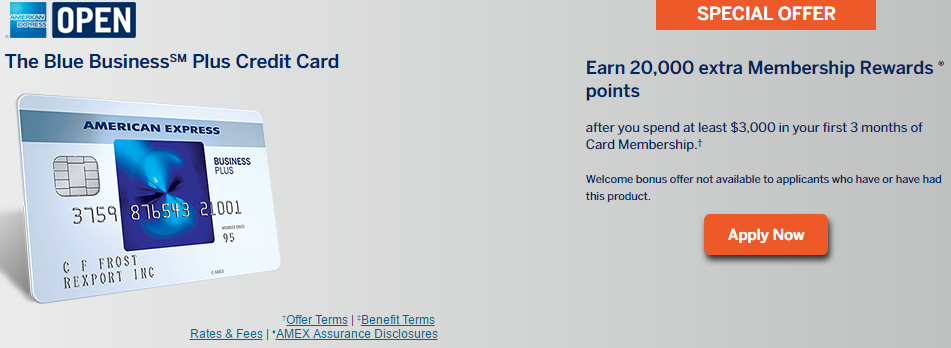 Amex launches new business card 20k bonus plus 2x mr everywhere up amex launches new business card reheart Image collections