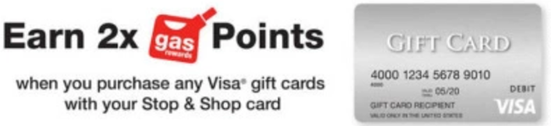 fuel points visa gift cards