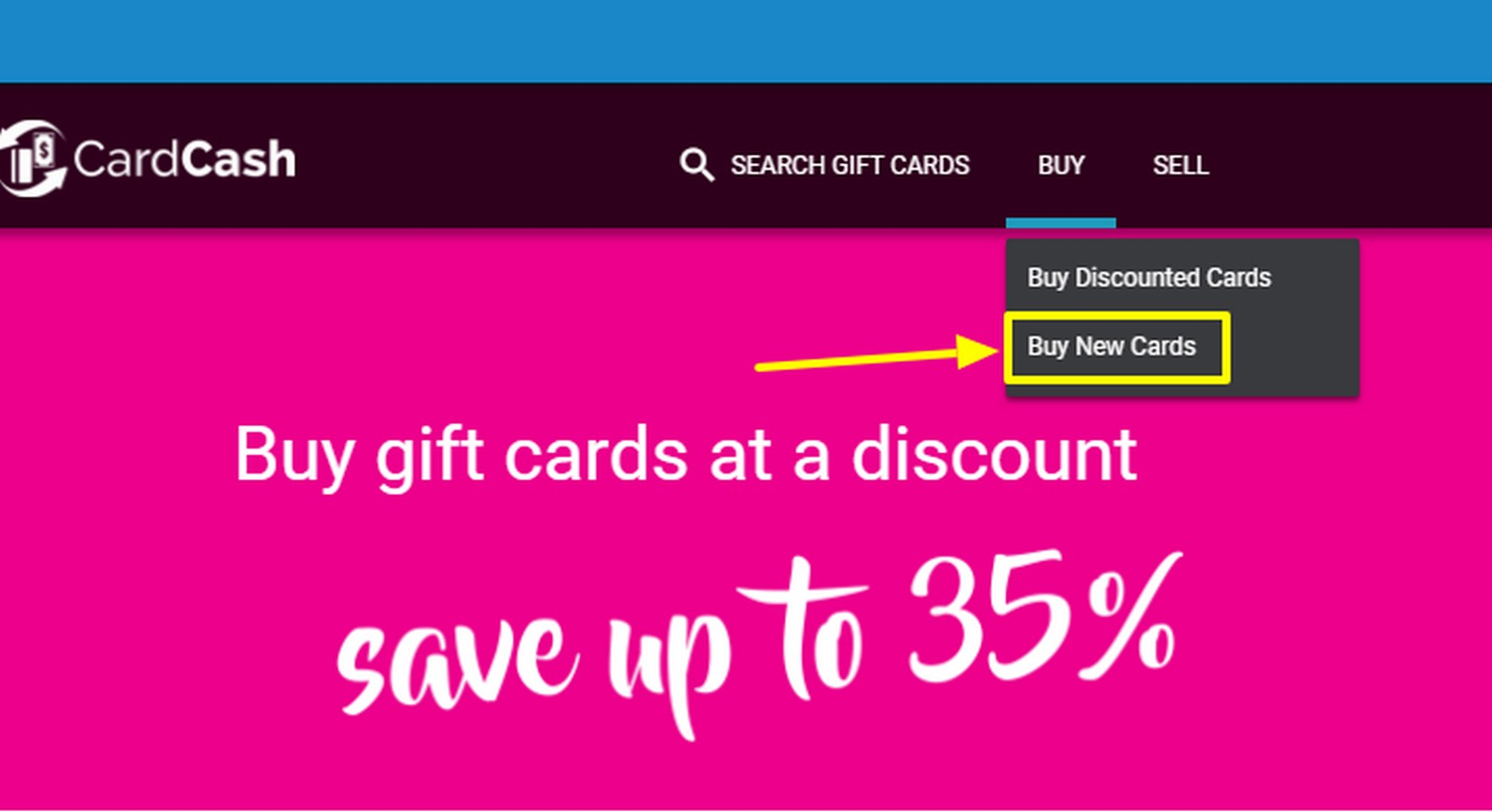 CardCash Now Sells New Gift Cards
