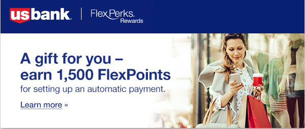 New Email Offer for 1500 FlexPoints