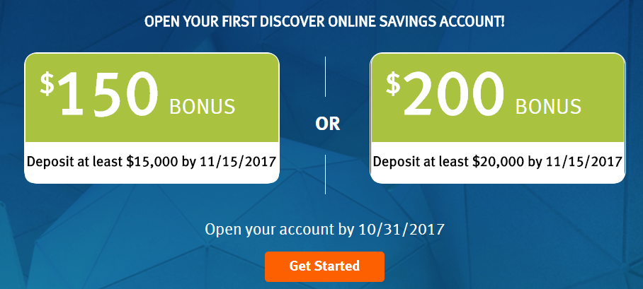 Discover Savings Bonuses, Get up to $6 with $6K Deposit - Miles