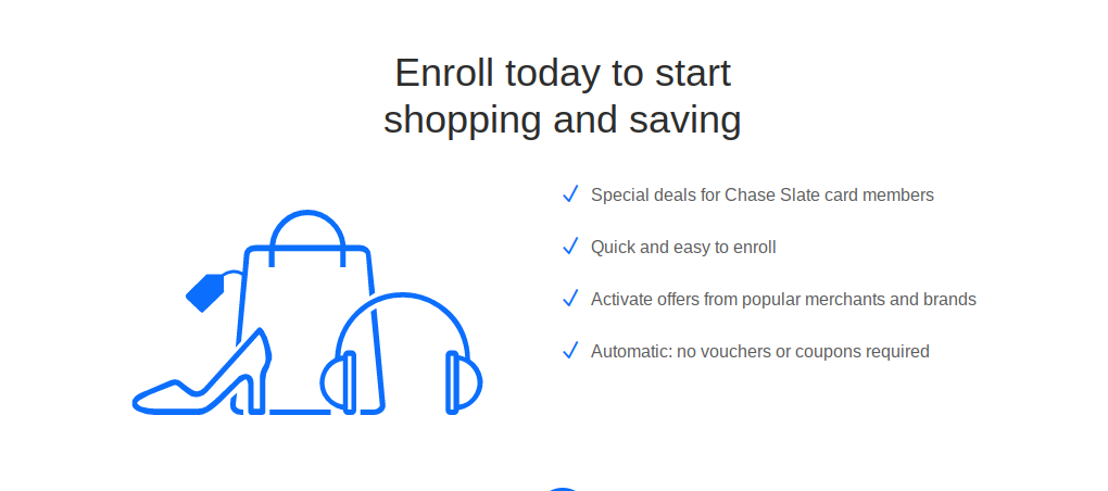 Chase Unveils Chase Offers on Select Credit Cards