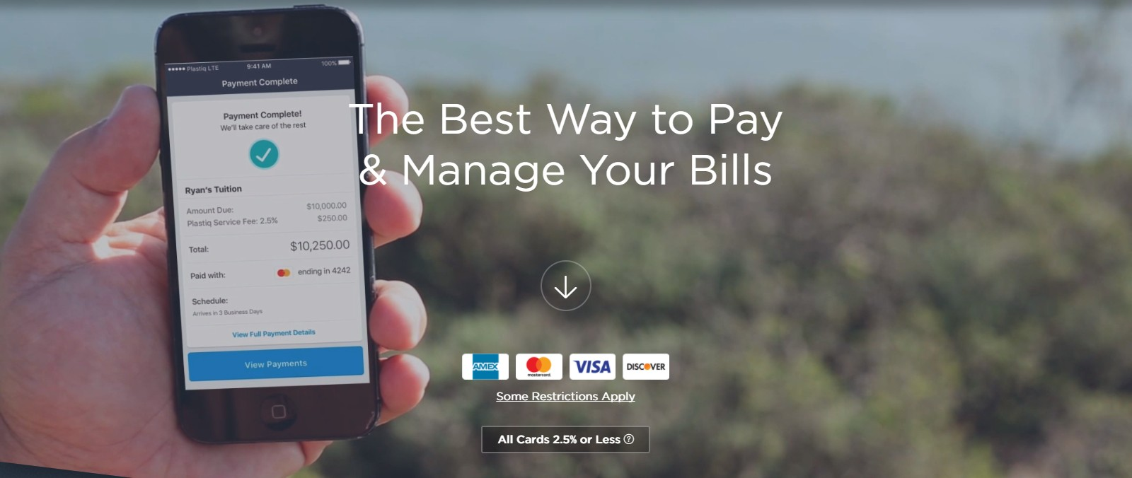The best card for Plastiq online bill payments