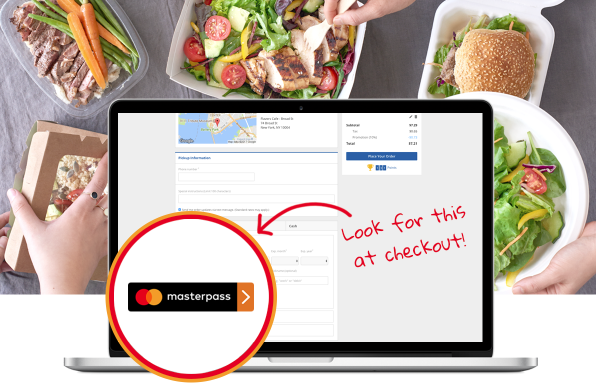 Delivery.com Masterpass Promotion