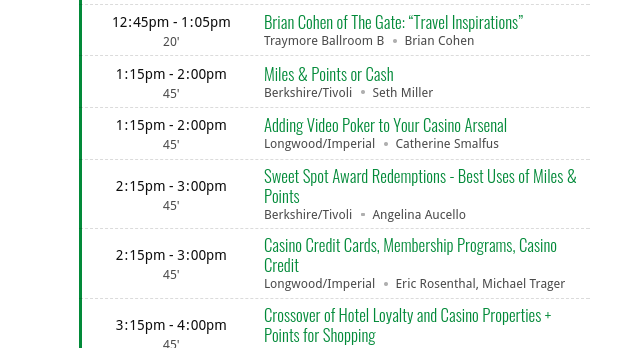 ZorkFest: Event Combining Travel Hacking and Casino Loyalty