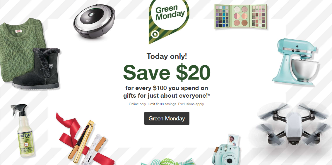 Green Monday at Target