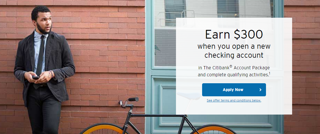 Citi Checking Bonus, Get $300 with New Account and $15K Deposit - Miles to Memories