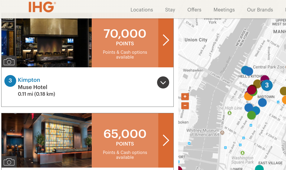 Use IHG Points and Free Night Awards to Book Kimpton
