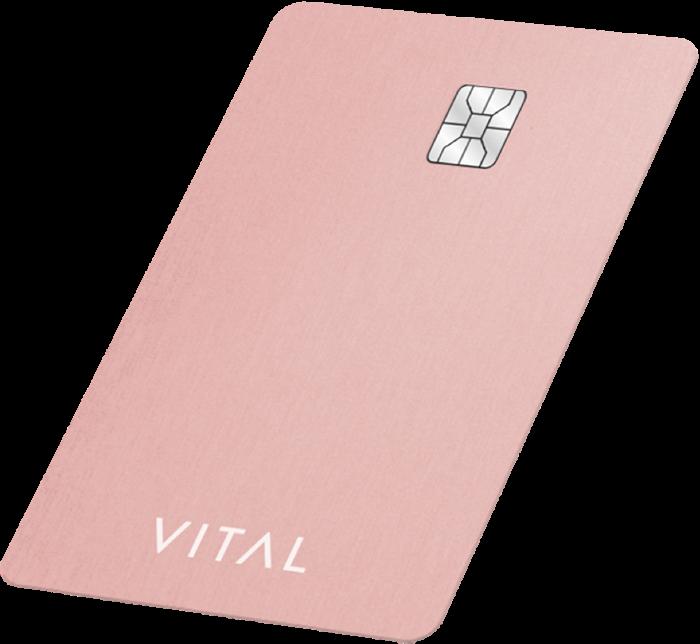 vital visa card