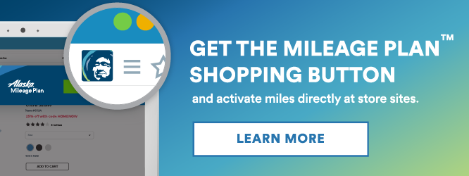 Alaska Airlines Adds New Shopping Portal Features
