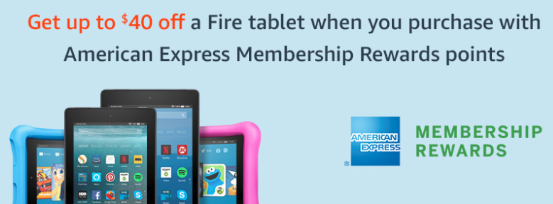 American Express Fire Tablet Offer
