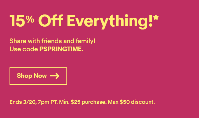 ebay 15% off coupon