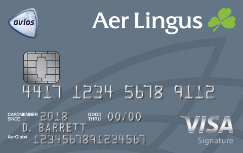 Chase Aer Lingus card