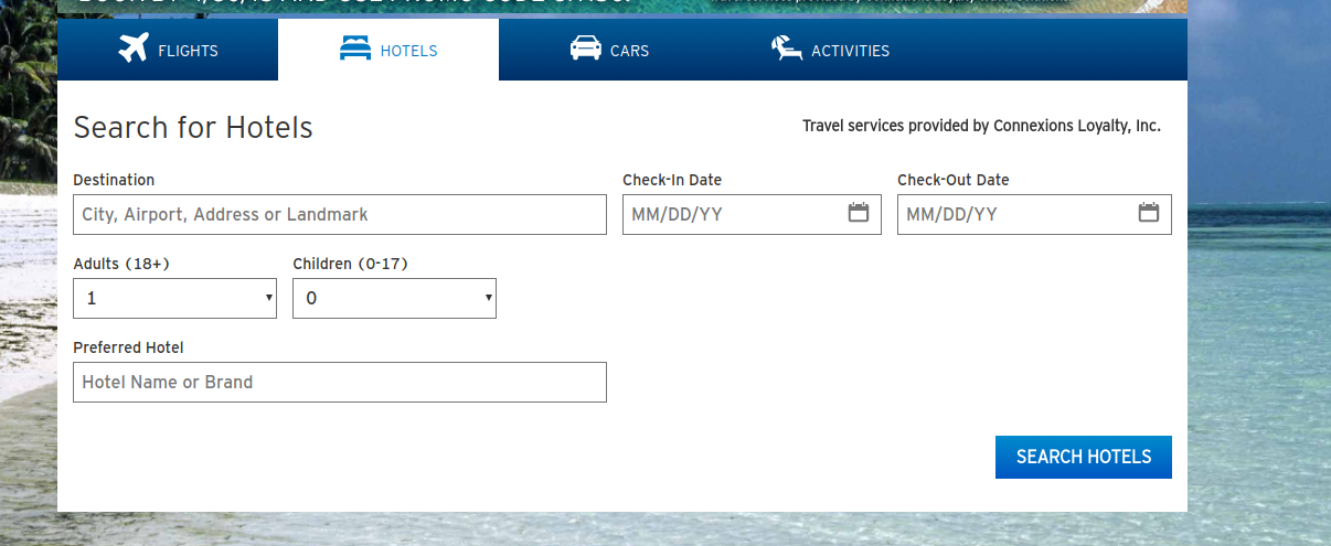 Thank You Points Travel Booking