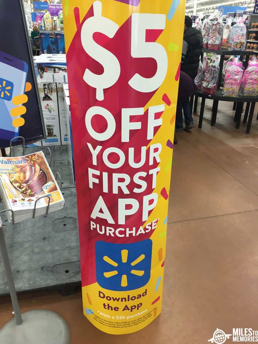 Walmart App Promotion - $5 Off Your First Purchase