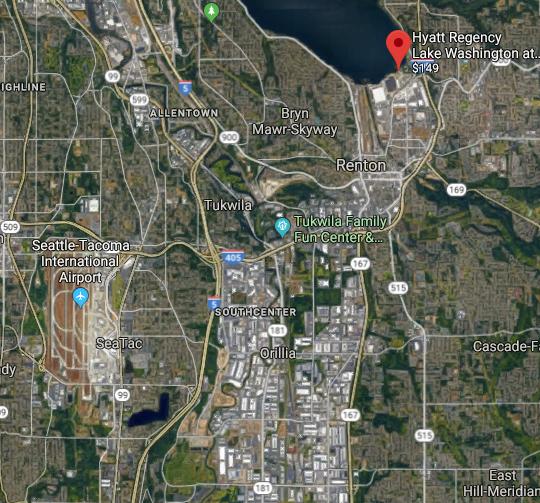 Hyatt Regency Lake Washington Seattle Review