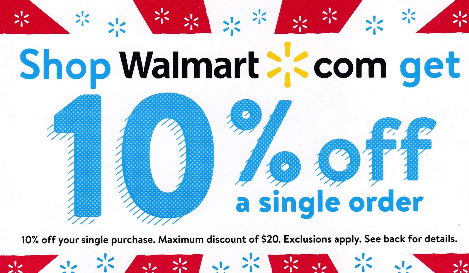 It's Back! 10% Off Walmart Coupons Are Available Again