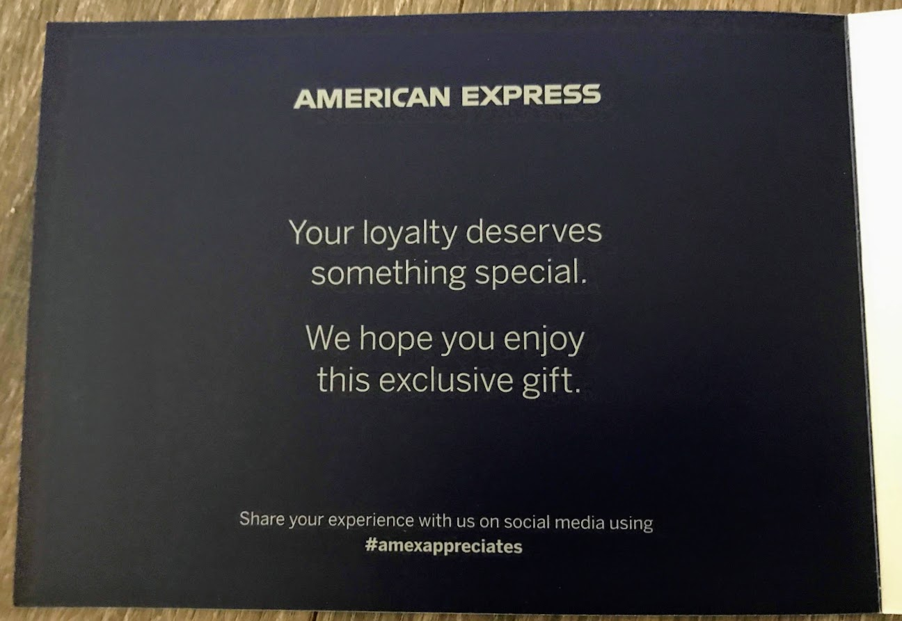 American Express Cardmember Gift Card