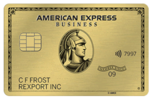 Gold Biz Card