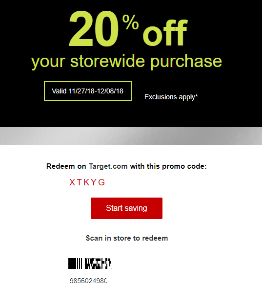 promotion codes for target free shipping online