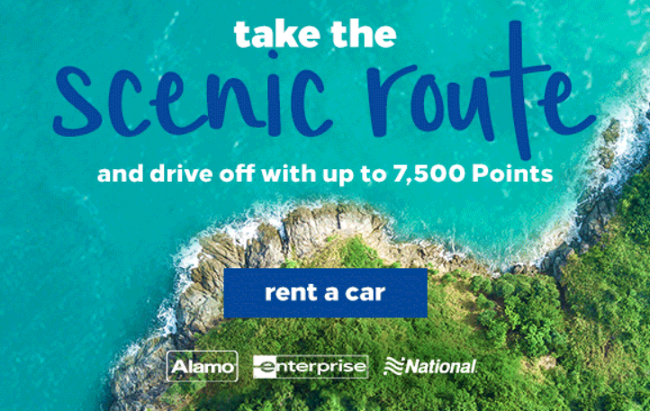 Bonus Hilton Points with Car Rentals