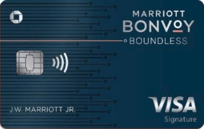 Marriott Bonvoy Boundless upgrade offer