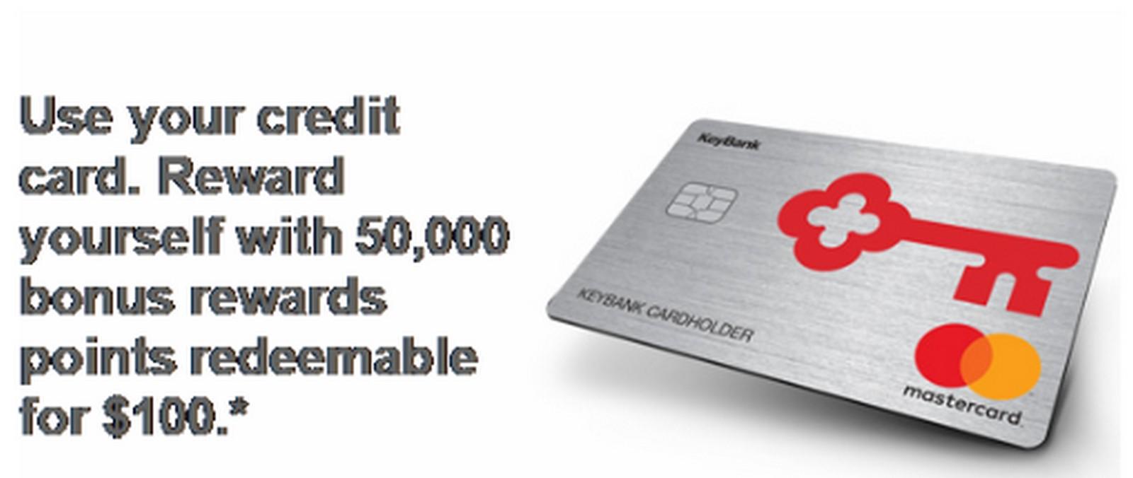 KeyBank Rewards credit card