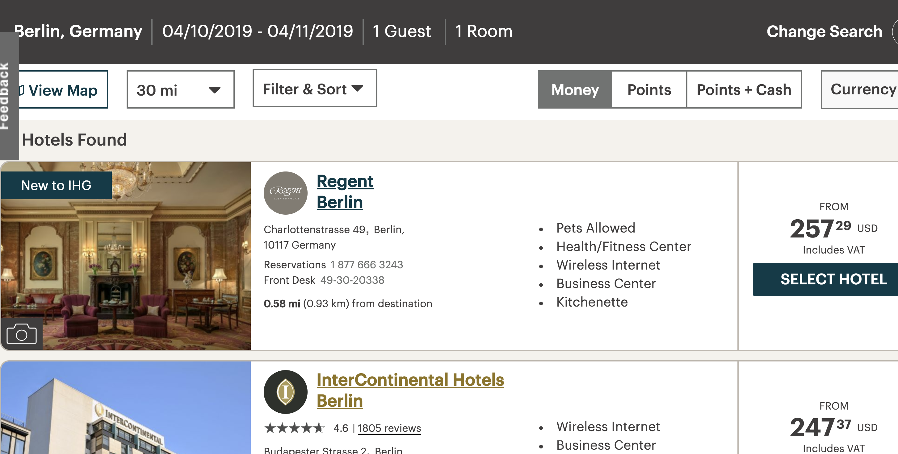 IHG Expands Premium Offerings with Regent Hotels