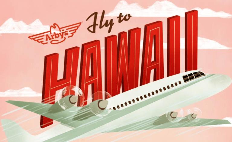 Arbys Fly To Hawaii Winner