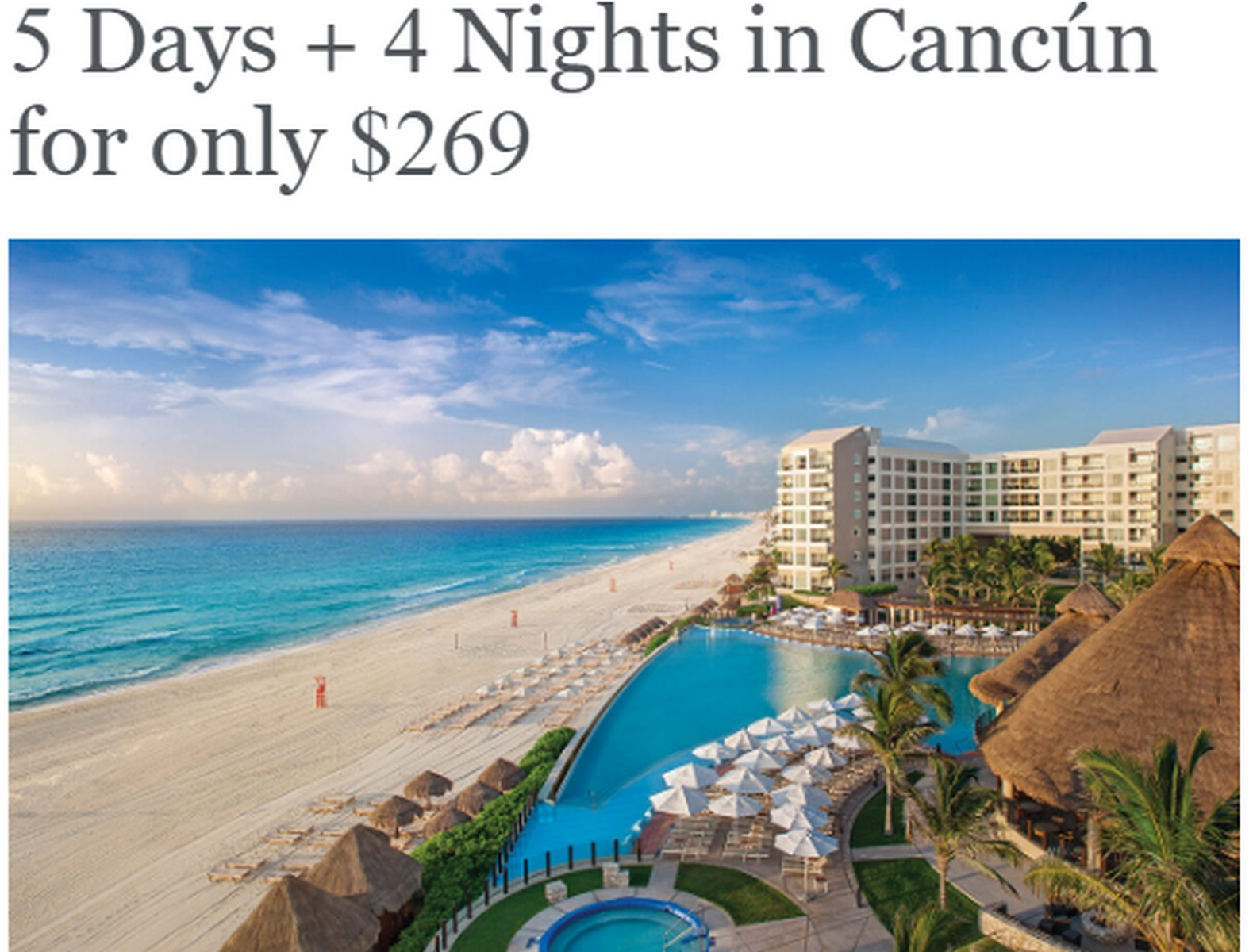 Westin Lagunamar Ocean Resort Timeshare Offer