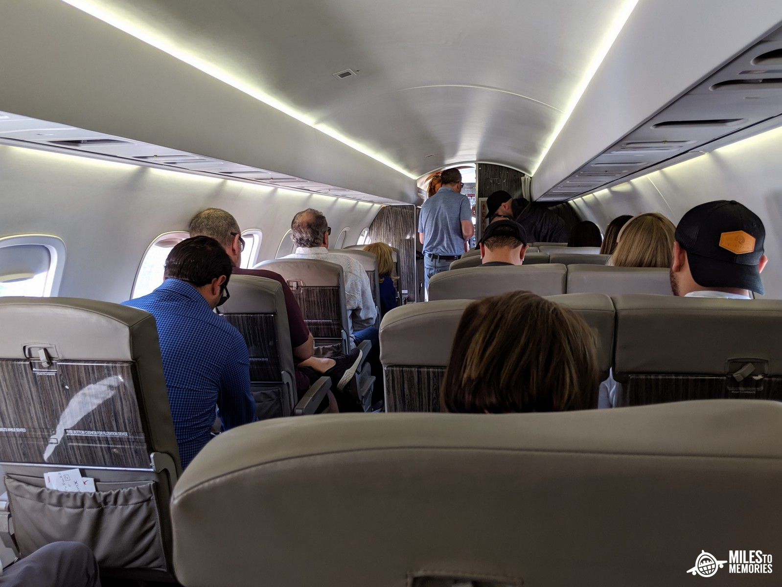 JetSuiteX Review interior