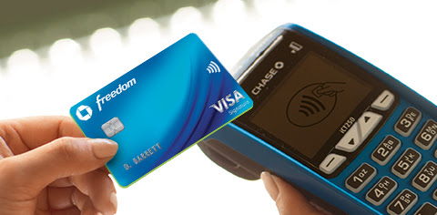 500 Bonus Points When You Tap to Pay with Chase Cards