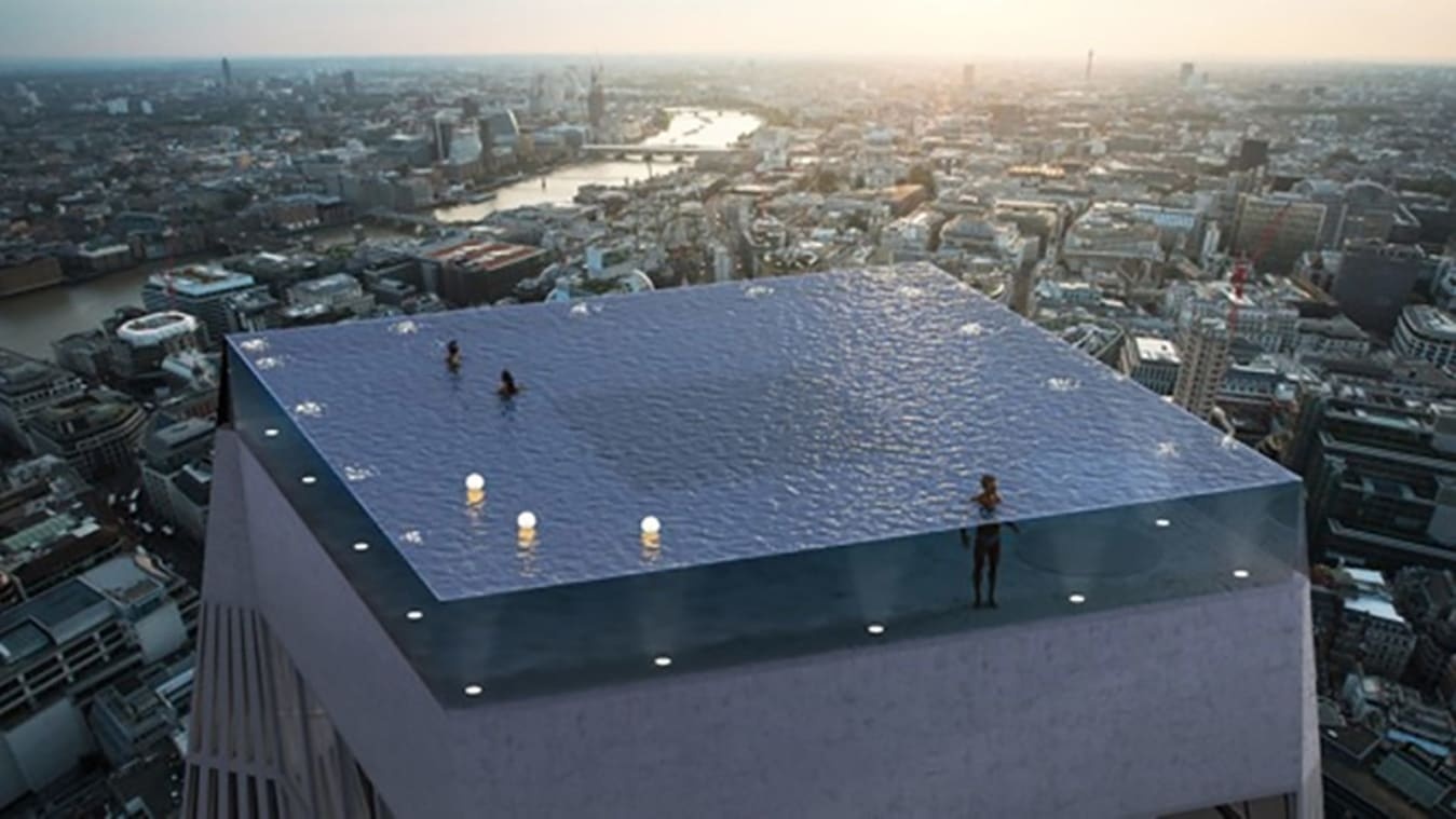 Infinity Pool with 360 Degree Views