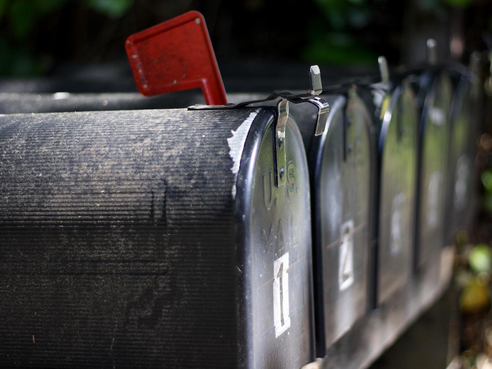Travel Hacking Overseas mailbox
