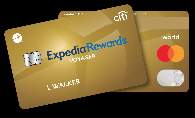 Citi Expedia Voyager Card, Increased 8K Bonus Available - Miles